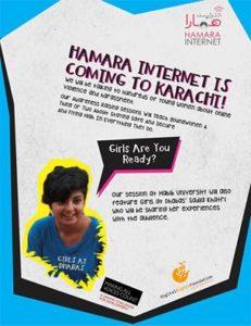Hamara Internet Girls at Dhabas Habib University Session